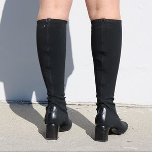 47ca8dfcbca Gucci Shoes - GUCCI SZ 7.5 SOCK BLACK BOOTS VINTAGE